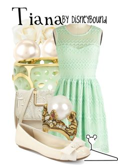 Inspired by Tiana from Princess and the Frog (via Disneybound)