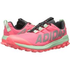 pretty nice b1f09 05d4a adidas Running Vigor 6 TR (Flash RedSilver MetallicFrozen Green) Womens