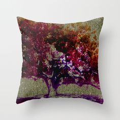 The Colour of my Autumn Cushion Cover by Cate Legnoverde