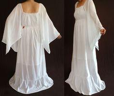 plus size gauze dress