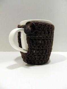 Coffee Mug & Cozy by CraftyRidge on Etsy, $8.50.