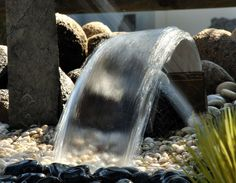 Jumping Water Features Kit | Lamination water jet performed by Laminar Fan nozzle