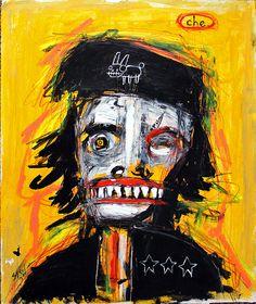 Art Journal Inspiration, Painting Inspiration, Jm Basquiat, Funky Art, Science Fiction Art, Outsider Art, Recycled Art, Horror Art, Face Art