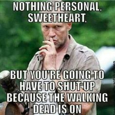 The Walking Dead ..that's right! #twd https://pagez.com/4136/36-rickdiculous-rick-and-morty-facts