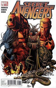 Secret Avengers #8 (February 2011, Marvel) - FVF