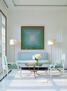 Фотография: Мебель и свет в стиле Классический, Современный, Декор интерьера, Декор дома, Цвет в интерьере, Советы, Картина, Неоклассика – фото на InMyRoom.ru