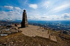 easy utah hike - ensign peak 1002 N Ensign Vista Drive Salt Lake City, UT