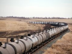 north dakota oil train before