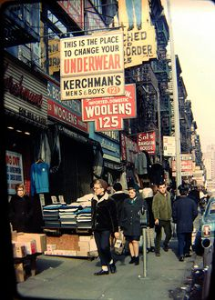 Tom Riggle's Rare Photos of NYC in the 1960s-70s