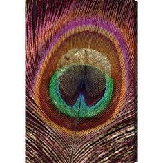 Feather Touch Multi Canvas Print, Oliver Gal