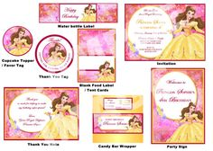 Hey, I found this really awesome Etsy listing at https://www.etsy.com/listing/93963017/disney-belle-party-package-beauty-and