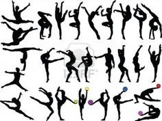 Gymnastics Poses. Today, I'm going to take pictures of me doing gymnastics poses and we are going to print it out and cut out me doing the pose, and my dad is going to use a projector to blow up the picture and trace it for my room :)