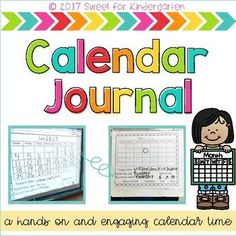 Make the most out of your calendar time! This Calendar Journal holds all students accountable for their own learning. Great for Kindergarten, 1st, and 2nd Grade!