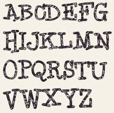 Free Printable Letter Stencils Templates | Home Style | Pinterest ...