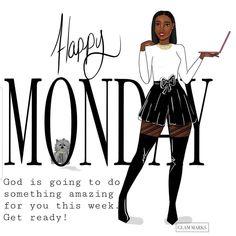 Black Girl Quotes, Black Women Quotes, Black Girl Art, Black Women Art, Black Girl Magic, African American Expressions, African American Women, Happy Monday Images, Diva Quotes