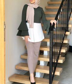 Hijab Outfit, Hijab Dress, Modest Wear, Modest Dresses, Modest Outfits, Hijab Chic, Ootd Chic, Chic Chic, Muslim Fashion