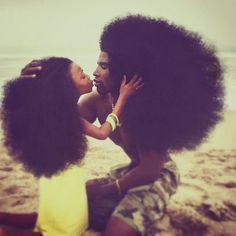Father & Daughter Duo Takes Over The Internet With Their Natural Hairdos   Bored Panda Natural Hair Inspiration, Natural Hair Tips, Natural Hair Styles, Benny Harlem, Hair Journey, Hair Art, Black Is Beautiful, Hair Hacks, Hair Goals
