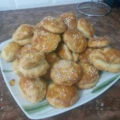 Τυροπιτάκια σε 5 λεπτάκια συνταγή από pavlidou sofia - Cookpad Pretzel Bites, Bread, Recipes, Food, Brot, Recipies, Essen, Baking, Meals