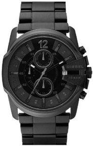 Diesel Chronograph IP Bracelet Black Dial Men's watch #DZ4180. #diesel #dieselwatch