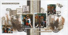 Whisper, Photo Wall, In This Moment, Adventure, Christmas Ornaments, Holiday Decor, Frame, Layouts, Scrapbooking