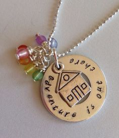 Up inspired adventure is out there necklace by ddbrown83 on Etsy, $20.00