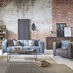 Ein Sofa, das in jede Wohnung absolute Eleganz bringt. Decor, Furniture, Home, Love Seat, Sectional Couch, Loft, Loft Design, Sofas