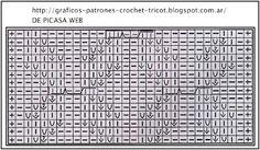 TEJIDOS A DOS AGUJAS - TRICOT= PATRONES= GRAFICOS=TODO GRATIS: TEJIDOS A DOS AGUJAS Y SU PATRON = TRICOT Y SUS GRAFICOS