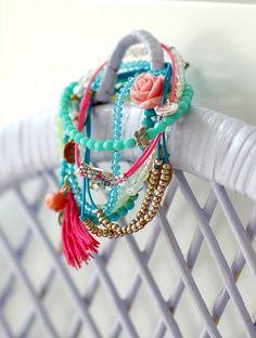 Bracelet love by jasna.janekovic, via Flickr