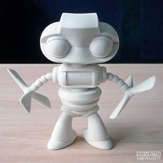 Prop toy concept 3D print, by http://sevensheaven.nl