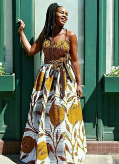 African Clothing/ Ankara Mixed Print/ Ankara Dress/ African Print - Women's style: Patterns of sustainability African Fashion Designers, African Print Fashion, Africa Fashion, African Print Dresses, African Fashion Dresses, African Dress, Fashion Outfits, Fashion Ideas, Fashion Skirts