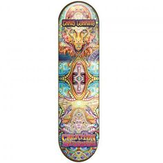 8.25X32.25 Chris Luhring Deck Art by EOS