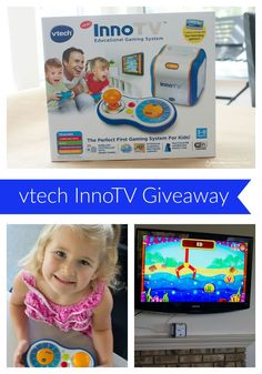Gift idea for kids ages 3 to 8. - The Vtech InnoTV educational gaming system