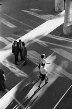 © René Burri, Ministry of health planned by architect O. Niemeyer, Rio de Janeiro, 1960