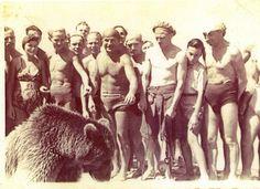 Summer of 1946. The beach near Ancona
