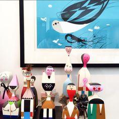 @vitra Alexander Girard dolls