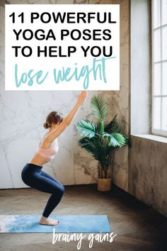 Yoga isn't all about gentle stretches and impressive headstands! Yoga is a great tool to help you reach your weight loss goals. Here are 11 powerful yoga poses that will help you lose weight! Help Losing Weight, Yoga For Weight Loss, Weight Loss Goals, Lose Weight, Health And Fitness Articles, Fitness Tips, Flexibility Training, Yoga Posen, Yoga At Home