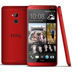 HTC One max 紅色版悄悄在台上市