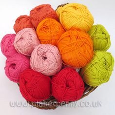 Sunshine and Shadow Collection, Planet Penny Yarn - Sunshine