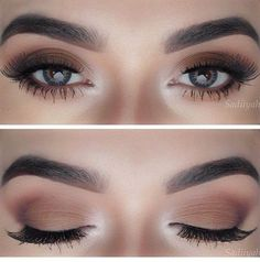 Make up Brown Matte. Makeup casual, @yanameaston follow 'Eyeshadows' for more! :) X