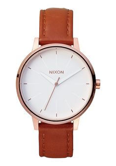 Nixon Womens Watch Kensington Leather