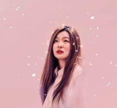Seulgi - Red Velvet / Lights series by bubble-min on DeviantArt Red Velvet Seulgi, Red Rooms, Kpop Fanart, K Idols, Cute Drawings, Korean Girl Groups, Dancer, Bubbles, Royalty
