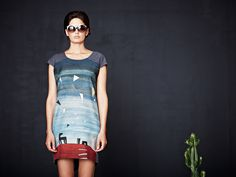 Feral Childe uses natural fibers and upcycled and deadstock fabrics. They manufacture waste-consciously in Brooklyn and New York City. Eco Friendly Fashion, Material Girls, Spring 2014, Upcycle, Chic Clothing, Clothes, Dresses, Brooklyn, Fabrics