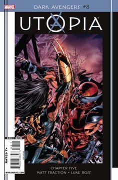 Marvel Dark Avengers Utopia #8