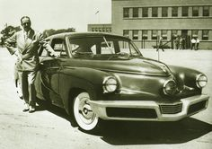 my favorite car...the tucker with preston tucker, 1948 (ish)