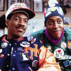 Coming to America - Eddie Murphy and Arsenio Hall
