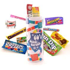 1. Favorite Retro Candy ~ I couldn't find a pic with all three but my favs are BottleCaps, Fun Dip and Sixlets!