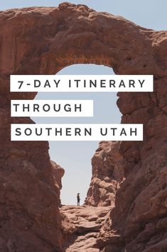 Explore Southern Utah with this itinerary. Learn that you can see everything you wanted even while adjusting and handling unseen circumstances. Visit Zion National Park, Bryce, Moab and more. Bucket List Destinations, Travel Destinations, Road Trip To Colorado, Utah Adventures, Hiking Trips, Road Trips, Zion National Park, Day Trip, Cool Places To Visit