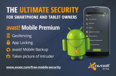 Antivirus to keep my phone safe. #avast #Mobile #Security #android #anti-theft #back-up