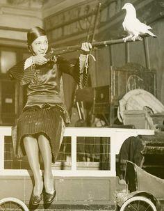 "Josephine Baker takes aim, 1931 "" Josephine Baker, Marilyn Monroe, Vintage Black Glamour, African American History, Black Power, Black Is Beautiful, Black History, Hollywood, Arm"
