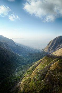 Mount Mulanje - towards Chiradzulu